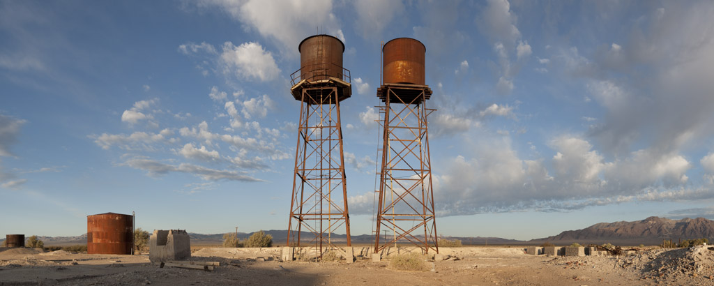 Rusting Water Towers, 2012