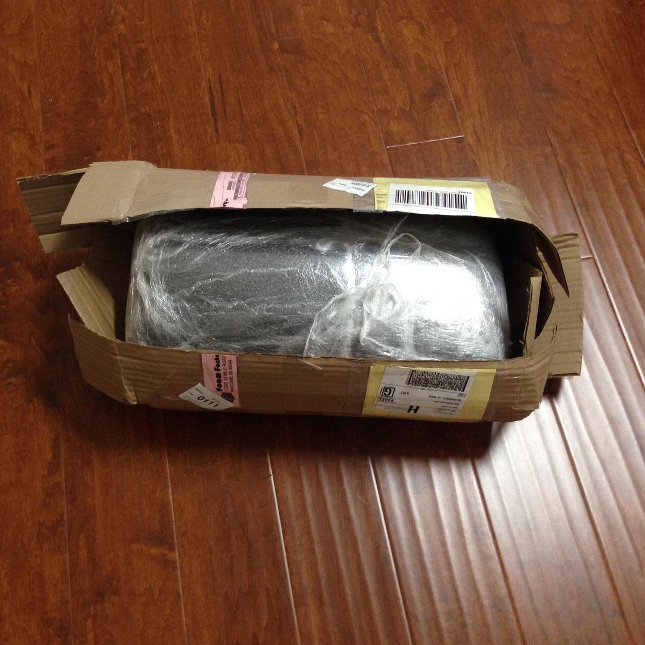 foam in box